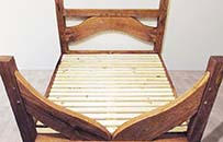 oak frame gothic bed